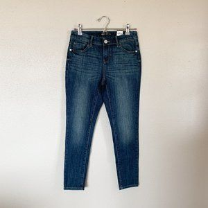nwt | Simply Vera Blue Denim Skinny Ankle Jeans